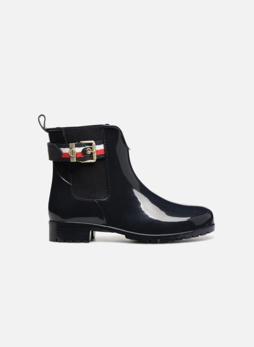 Bottines et boots Tommy Hilfiger CORPORATE BELT RAIN BOOT Bleu vue derrière