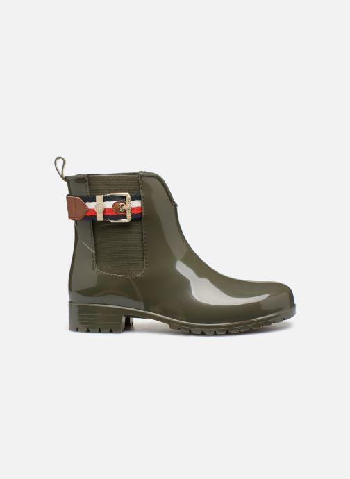 Bottines et boots Tommy Hilfiger CORPORATE BELT RAIN BOOT Vert vue derrière