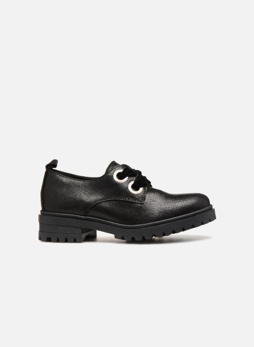 Chaussures à lacets Tommy Hilfiger METALLIC CLEATED SHOE Noir vue derrière