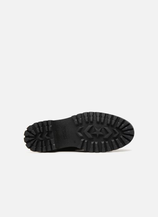 Chaussures à lacets Tommy Hilfiger METALLIC CLEATED SHOE Noir vue haut