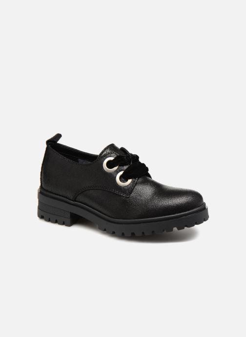 Chaussures à lacets Tommy Hilfiger METALLIC CLEATED SHOE Noir vue détail/paire