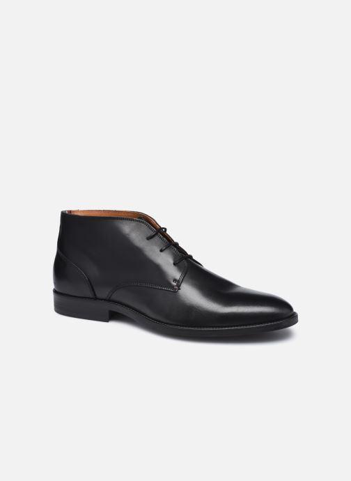 Bottines et boots Tommy Hilfiger ESSENTIAL LEATHER BOOT Noir vue détail/paire