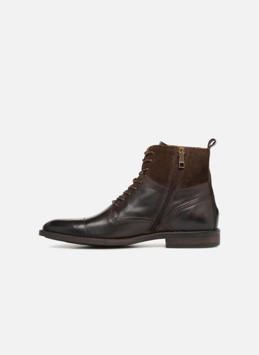 Bottines et boots Tommy Hilfiger ESSENTIAL MATERIAL MIX BOOT Marron vue face