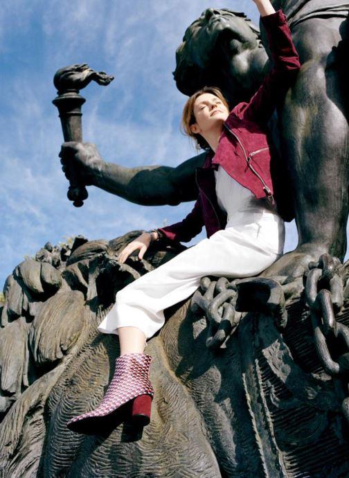 Bottines et boots Made by SARENZA Made by Sarenza X Elise Chalmin Boots Multicolore vue bas / vue portée sac
