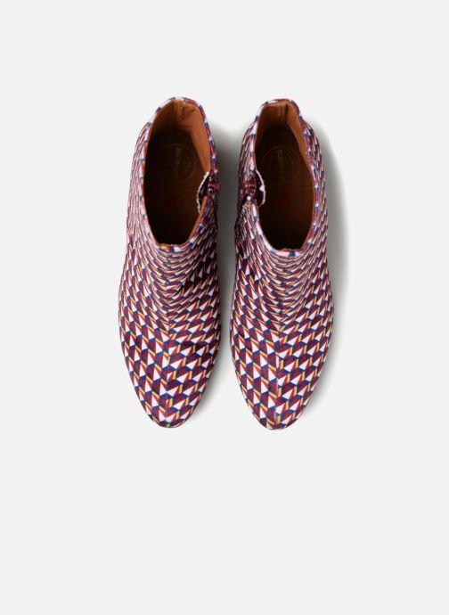 Print Sarenza Elise Chalmin Et By Velours Made X Bottines Boots Bordeaux Ybf76vgy