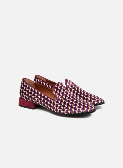 Elise Bordeaux Mocassin Print Velours By X Made Sarenza Chalmin oedxCB