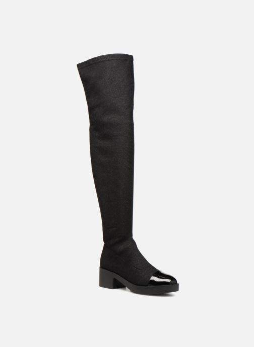 Boots & wellies Gioseppo 46488 Black detailed view/ Pair view