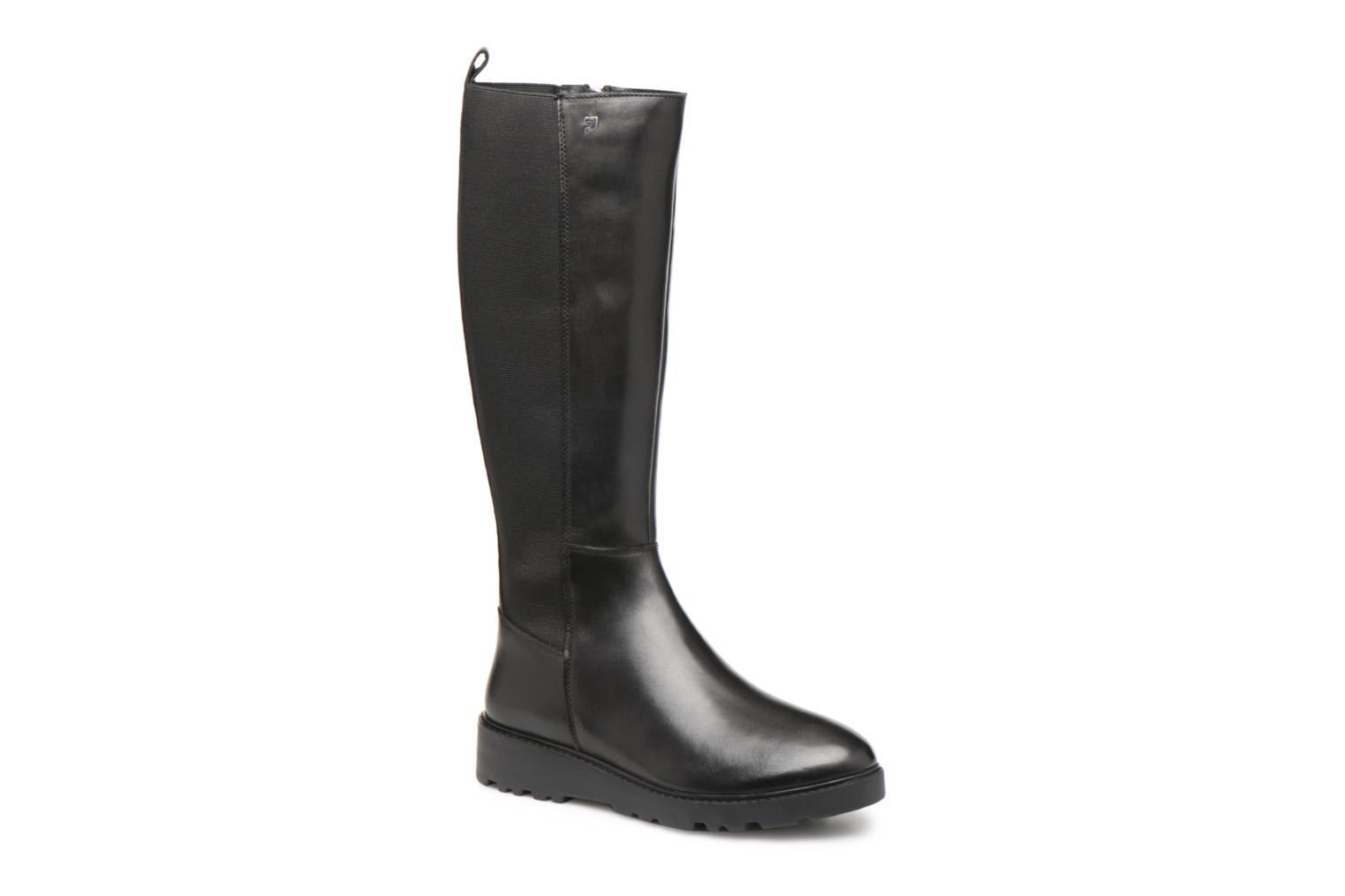 Boots & wellies Gioseppo 46480 Black detailed view/ Pair view