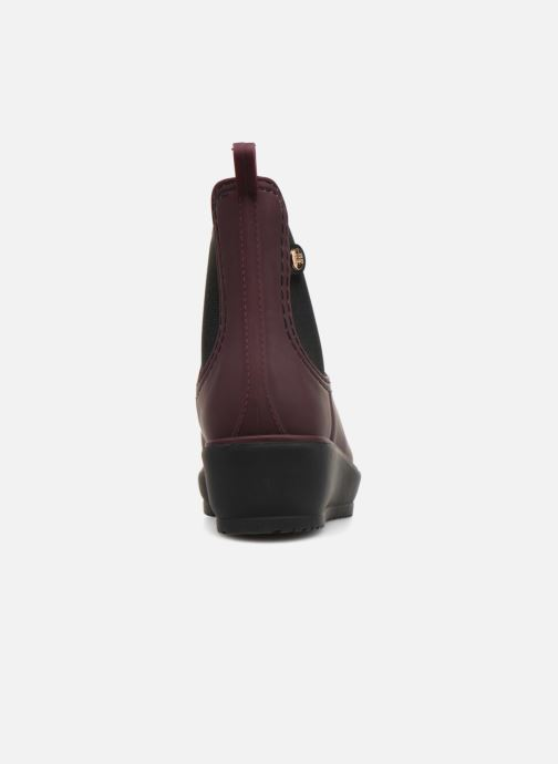 Ankle boots Gioseppo 45808 Burgundy view from the right