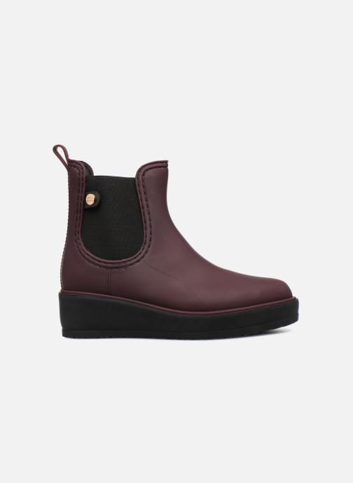 Ankle boots Gioseppo 45808 Burgundy back view