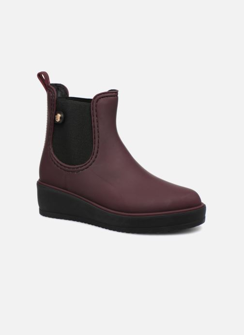 Ankle boots Gioseppo 45808 Burgundy detailed view/ Pair view