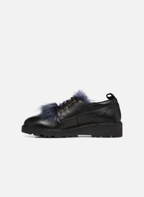 Zapatos con cordones Gioseppo 46447 Negro vista de frente