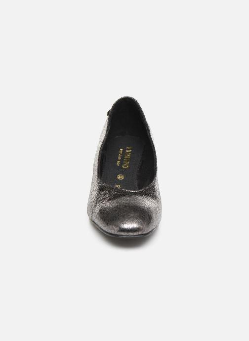 Escarpins Gioseppo 46200 Argent vue portées chaussures