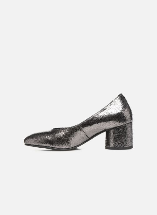 High heels Gioseppo 46200 Silver front view