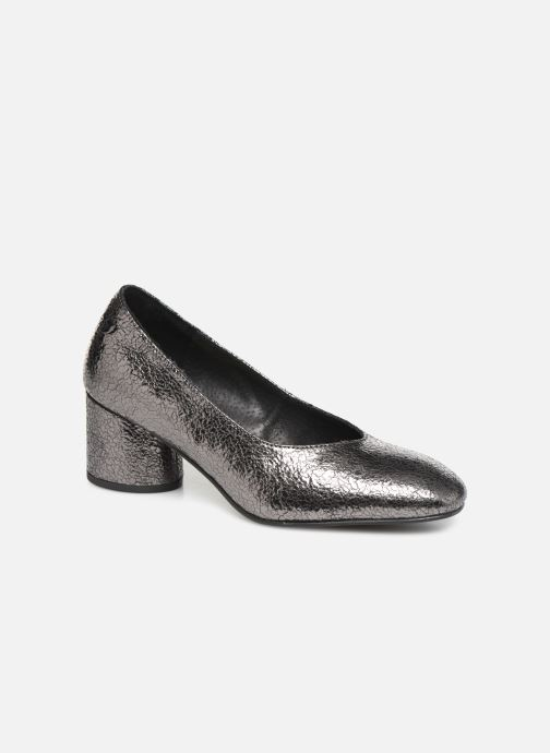 High heels Gioseppo 46200 Silver detailed view/ Pair view