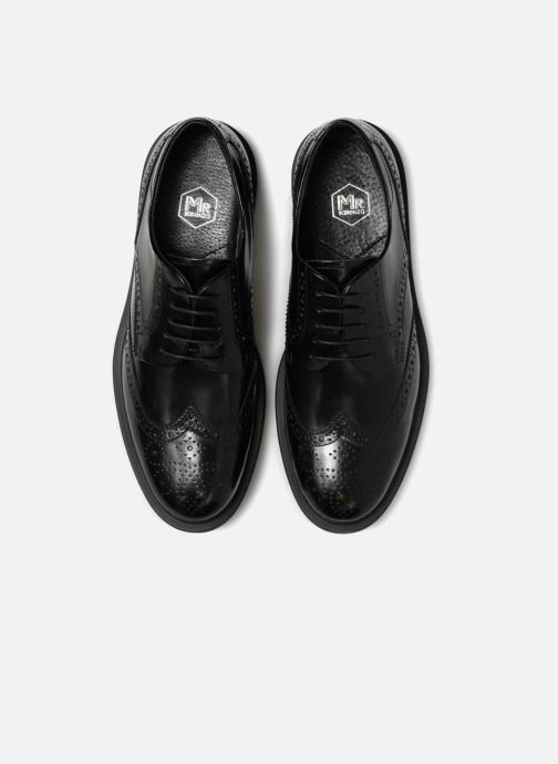 Zapatos con cordones Mr SARENZA Ruben Negro vista del modelo
