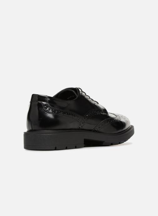 Zapatos con cordones Mr SARENZA Ruben Negro vista de frente
