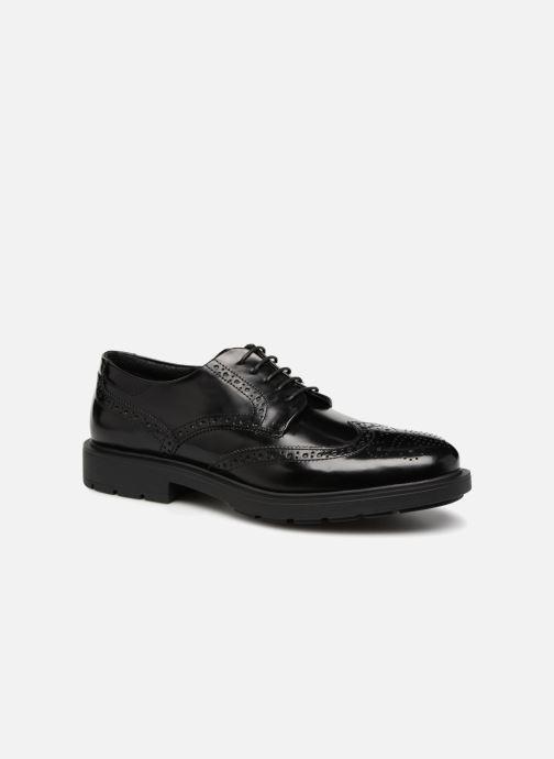 Zapatos con cordones Mr SARENZA Ruben Negro vista lateral derecha