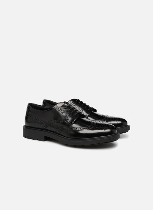 Zapatos con cordones Mr SARENZA Ruben Negro vistra trasera