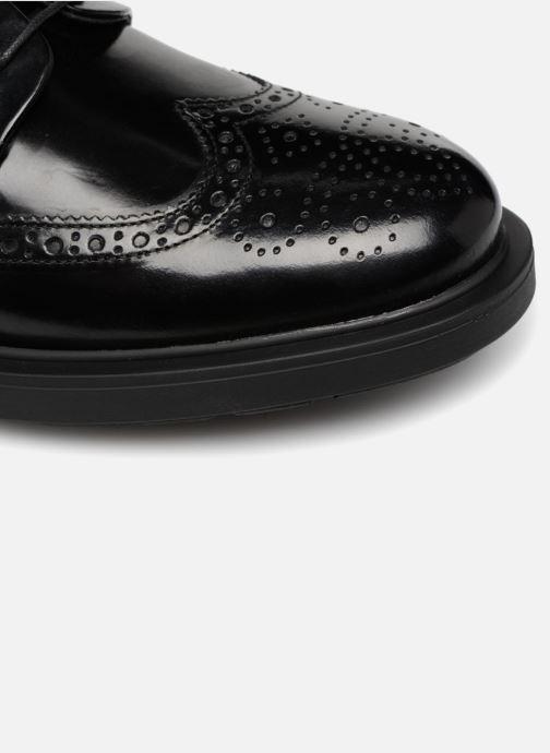 Zapatos con cordones Mr SARENZA Ruben Negro vista lateral izquierda