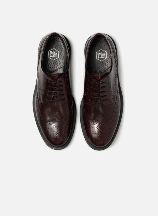 Zapatos con cordones Mr SARENZA Ruben Vino vista del modelo