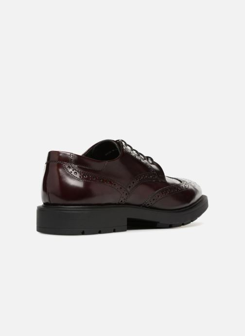 Zapatos con cordones Mr SARENZA Ruben Vino vista de frente