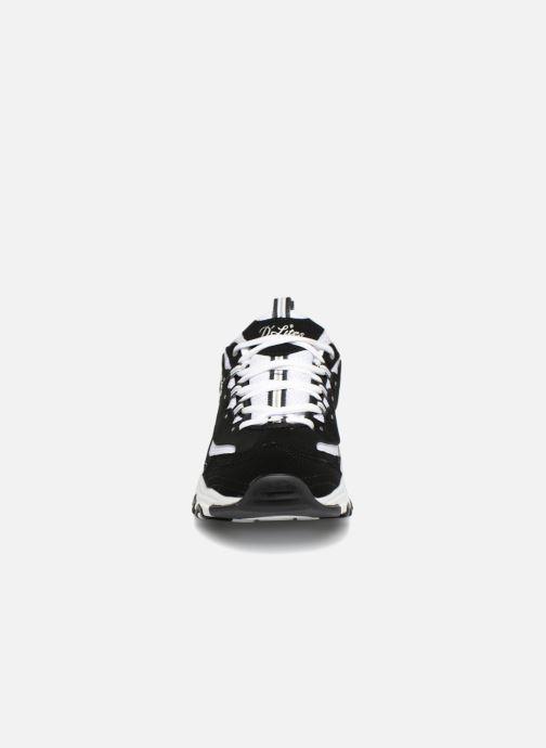Deportivas Skechers D'Lites Negro vista del modelo