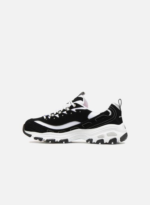 Sneakers Skechers D'Lites Nero immagine frontale