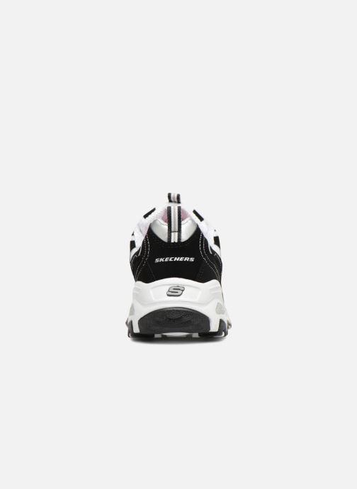 Sneakers Skechers D'Lites Nero immagine destra
