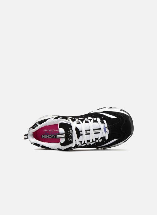 Sneakers Skechers D'Lites Nero immagine sinistra