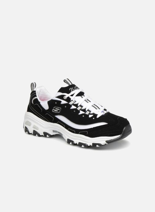 Sneakers Skechers D'Lites Zwart detail