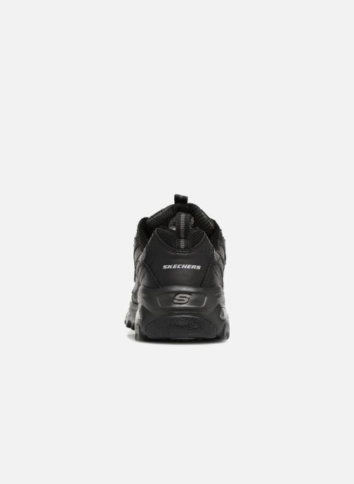 Baskets Skechers D'Lites Noir vue droite