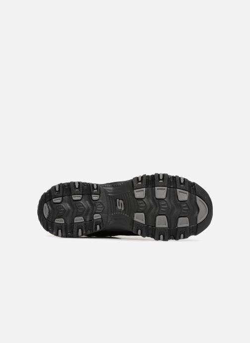 Baskets Skechers D'Lites Noir vue haut