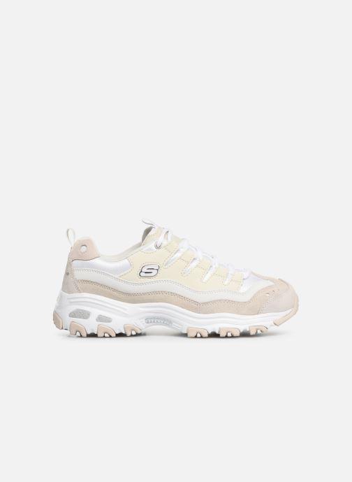 Sneakers Skechers D'Lites Hvid se bagfra