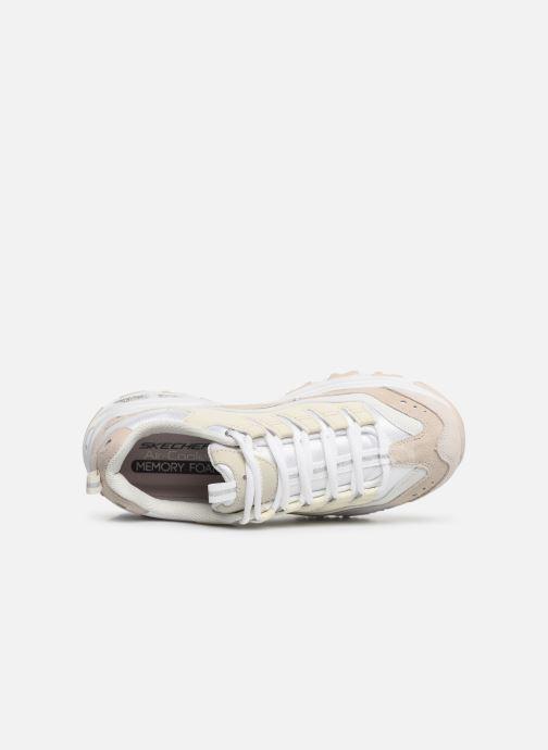 Sneakers Skechers D'Lites Bianco immagine sinistra