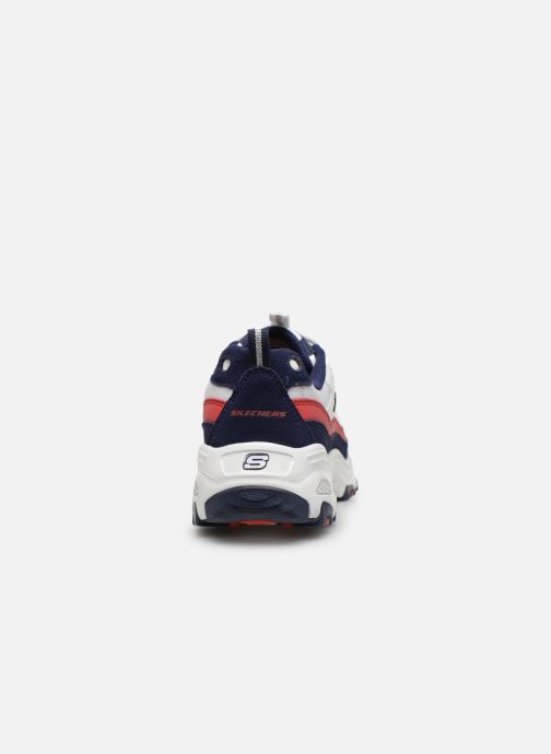 Trainers Skechers D'Lites Multicolor view from the right