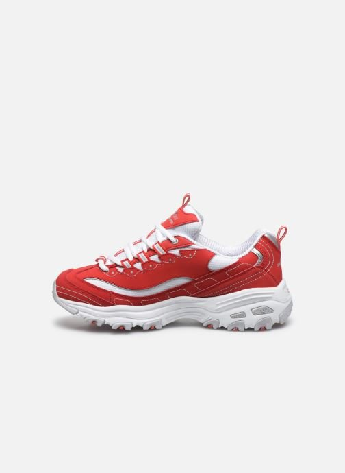 Sneakers Skechers D'Lites Rosso immagine frontale