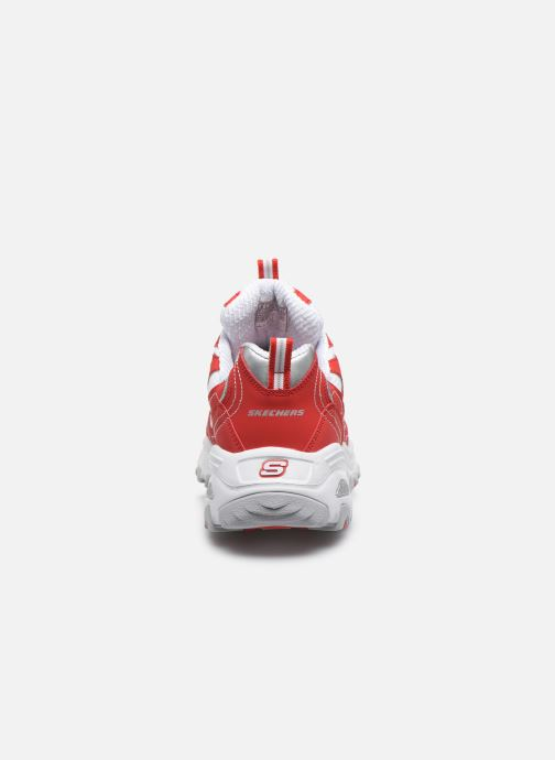Sneakers Skechers D'Lites Rosso immagine destra