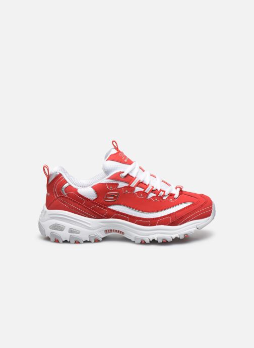 Sneakers Skechers D'Lites Rosso immagine posteriore
