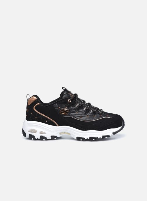 Sneaker Skechers D'Lites schwarz ansicht von hinten