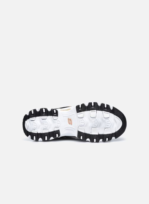 Sneakers Skechers D'Lites Nero immagine dall'alto