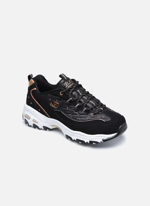 Sneaker Skechers D'Lites schwarz detaillierte ansicht/modell