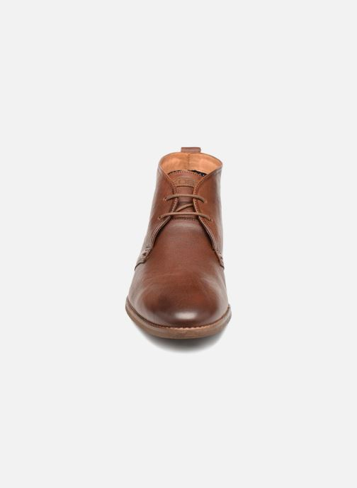 Chaussures à lacets Kost VAILLANT 27A Marron vue portées chaussures