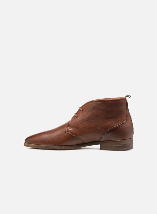 Chaussures à lacets Kost VAILLANT 27A Marron vue face
