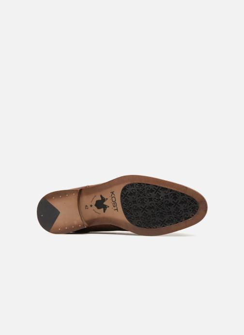 Chaussures à lacets Kost VAILLANT 27A Marron vue haut