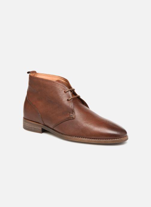 Chaussures à lacets Kost VAILLANT 27A Marron vue détail/paire