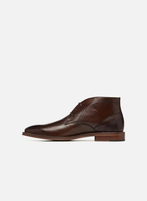 Ankle boots Marvin&co Ranty Brown front view