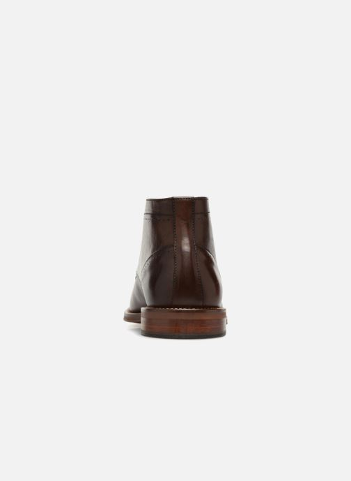 Ankle boots Marvin&co Ranty Brown view from the right