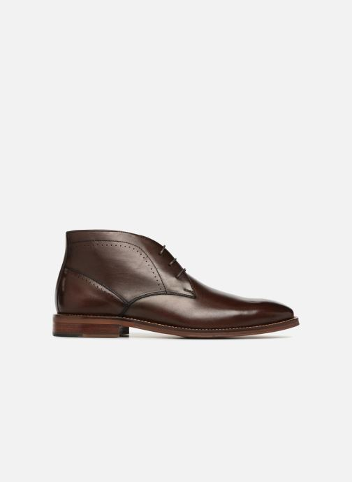 Ankle boots Marvin&co Ranty Brown back view