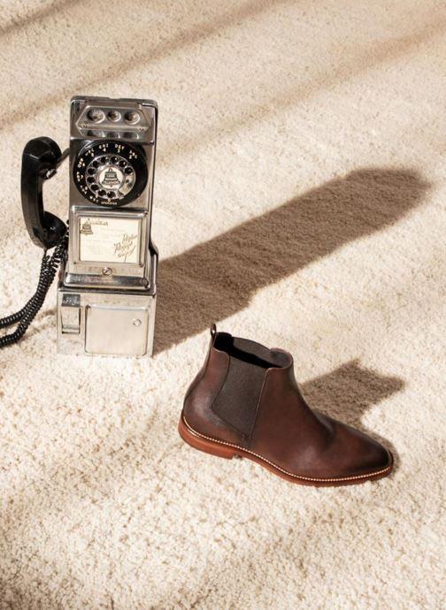 Bottines et boots Marvin&Co Raymond Marron vue bas / vue portée sac